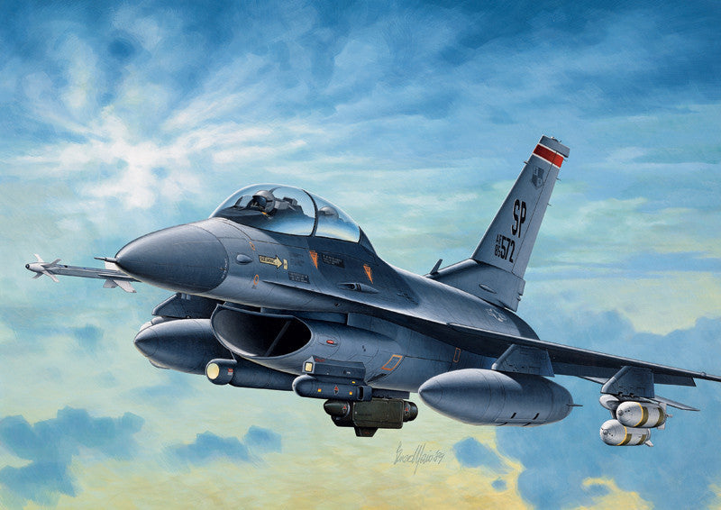 Italeri Aircraft 1/72 F16C Night Falcon Aircraft Kit