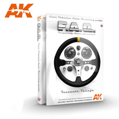 AKI Books - FAQ Civil Vehicles Scale Modeling Guide Book