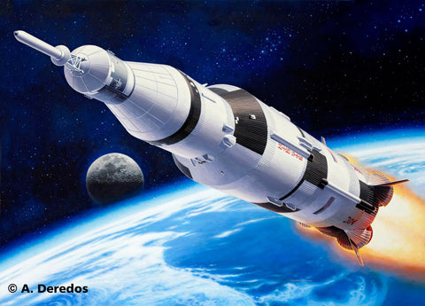 Revell Germany Sci-Fi 1/144 Apollo Saturn V Kit