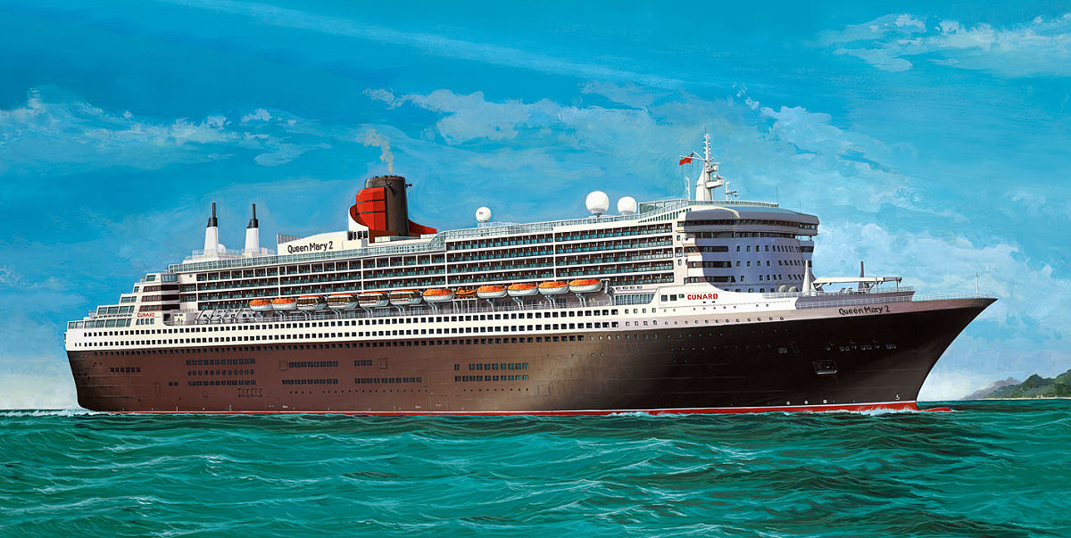 Revell Germany Ship 1/400 Queen Mary 2 Platinum Edition Kit