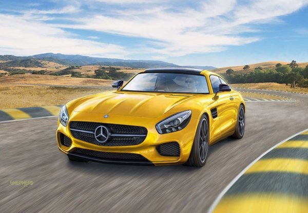 Revell Germany Model Cars 1/24 Mercedes AMG GT Car Kit