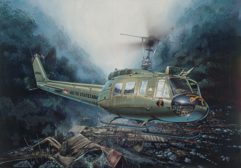 Italeri Aircraft 1/48 UH1D Iroquois Helicopter Kit