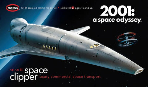Moebius Sci-Fi 1/144 2001 A Space Odyssey Space Clipper Orion Kit