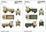 Trumpeter Military Models 1/35 M1078 LMTV (Light Medium Tactical Vehicle) Cargo Truck w/Armored Cab Kit
