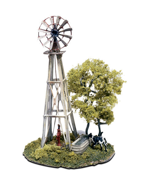 Woodland Scenics HO  Mini Scene Kit- Windmill