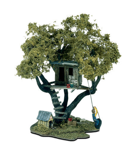 Woodland Scenics HO Mini Scene Kit - Tommy's Tree House
