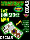 TSDS Decals 1/8 Invisible Man Decal Set for MOE