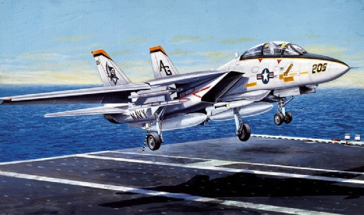 Italeri Aircraft 1/72 F14A Tomcat US Navy Fighter Kit
