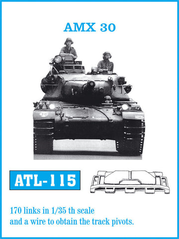 Friulmodel Military 1/35 AMX30 Track Set (170 Links)