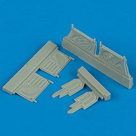 Quickboost Details 1/72 F4U1 Undercarriage Covers for ACY