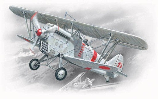 ICM Aircraft 1/72 Ki1011 Type 95 Japanese Army BiPlane Fighter Kit