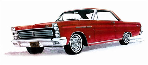 Moebius Model Cars 1/25 1965 Mercury Comet Cyclone Car Kit