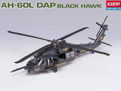 Academy Aircraft 1/35 AH60L DAP Black Hawk Helicopter Kit