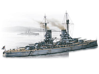 ICM Model Ships 1/350 WWI German Battleship SMS König Kit