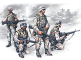 ICM Military Models 1/35 US Elite Forces Iraq (4) Kit