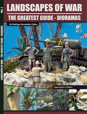 Accion Press Landscapes of War the Greatest Guide - Dioramas Vol. II