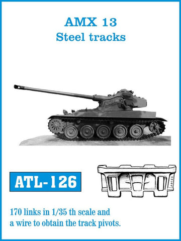 Friulmodel Military 1/35 AMX 13 Steel-Type Track Set (170 Links)