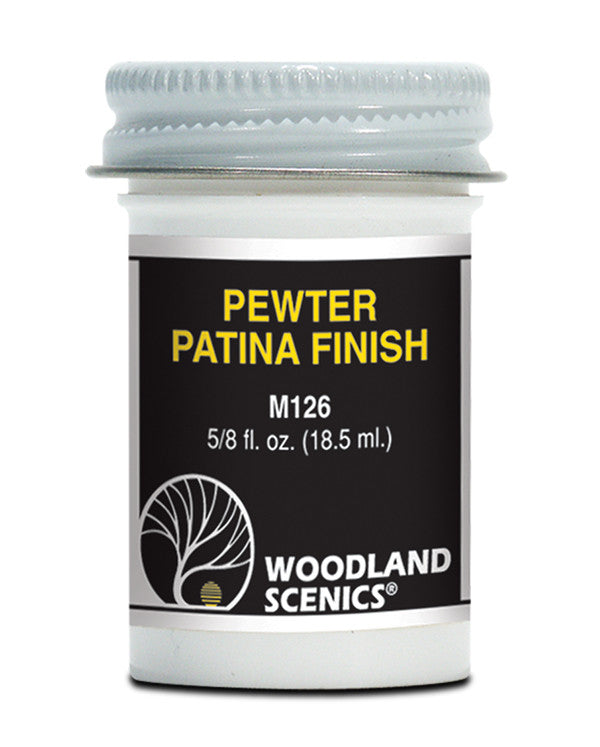 Woodland Scenics Pewter Patina Finish (5/8fl.oz)