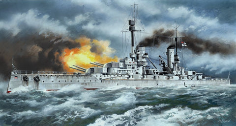 ICM Model Ships 1/350 WWI German Battleship SMS Kronprinz Kit