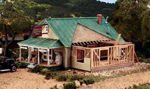 Design Preservation HO Woody's Country Mart Kit