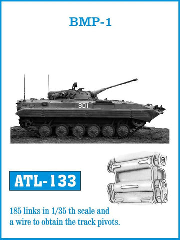 Friulmodel Military 1/35 BMP 1 Track Set (185 Links)