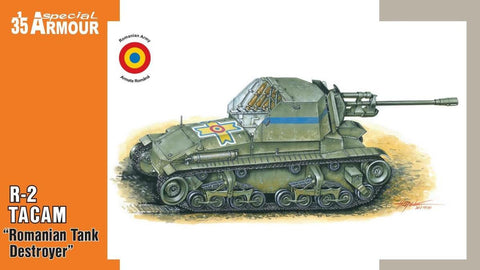 Special Hobby Military 1/35 R2 Tacam Romanian Tank Destroyer (New Tool) Kit