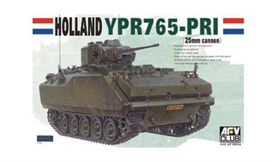AFV Club Military 1/35 Holland YPR765 PRI Armored Infantry Command Vehicle Kit