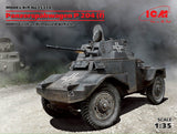 ICM Militaryb Models 1/35 WWII German PzSpahWg P204(f) Armored Vehicle Kit