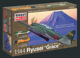 Minicraft Model Aircraft 1/144 B7A Ryusie Grace IJA Torpedo Bomber Kit