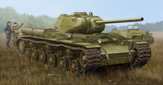 Trumpeter Military Models 1/35 Soviet KV1S/85 Heavy Tank Kit