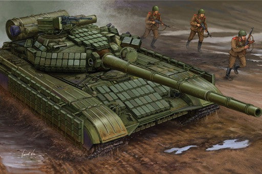 Trumpeter Military Models 1/35 Soviet T64AV Mod 1984 Main Battle Tank Kit