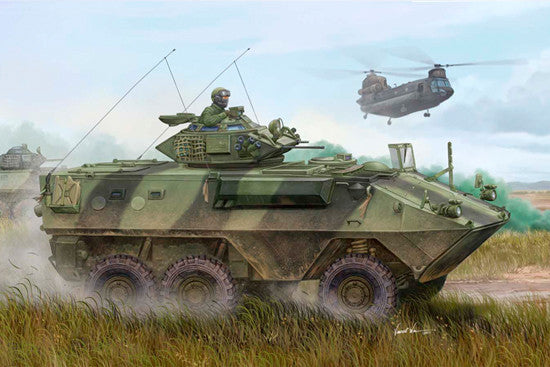 Trumpeter Military Models 1/35 Canadian Grizzly 6x6 Armored Vehicle General Purpose (AVGP) Kit