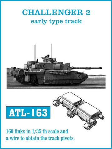 Friulmodel Military 1/35 Challenger II Early Track Set (160 Links)