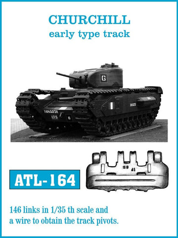 Friulmodel Military 1/35 Churchill Early Track Set (164 Links)