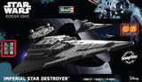 Revell-Monogram Sci-Fi Star Wars Rogue One: Imperial Star Destroyer w/Sound Build & Play Snap Kit