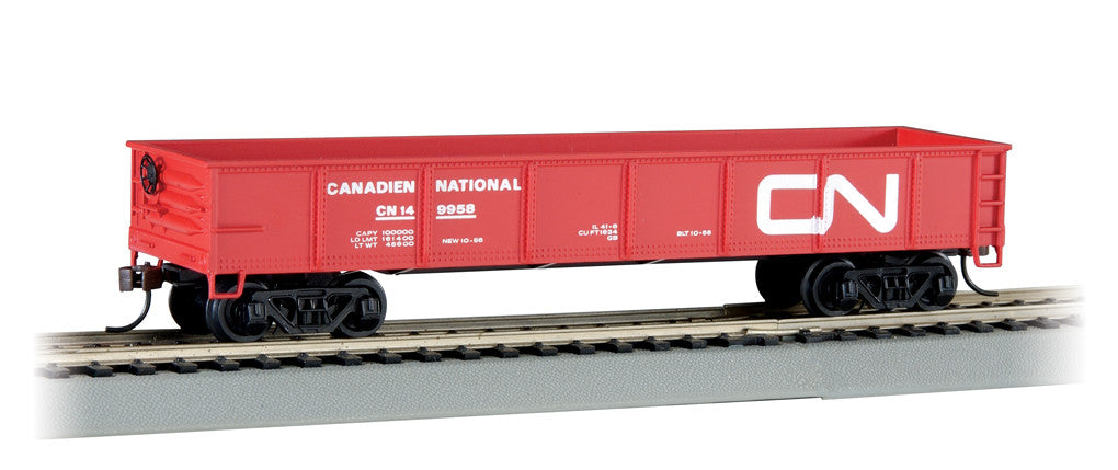 Bachmann HO 40' Gondola, Canadian National