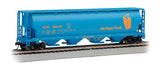 Bachmann HO 4 Bay Cylindrical Grain Hopper, Heritage Fund
