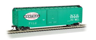 Bachmann HO 50' Sliding Door Box Car, New York Central® (Jade Green)