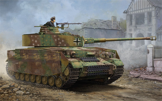 Trumpeter Military Models 1/16 German PzKpfw IV Ausf J Medium Tank Kit