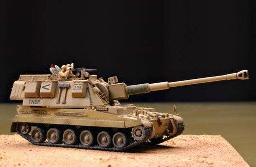Trumpeter Military Models 1/72 British AS90 Self-Propelled Gun Kit