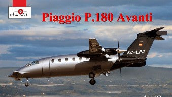 A Model From Russia 1/72 Piaggio P180 Avanti Twin-Turboprop Transport Aircraft Kit