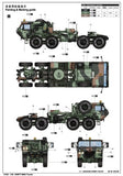 Trumpeter Military Models 1/35 HEMTT M983 Tractor (New Tool) Kit