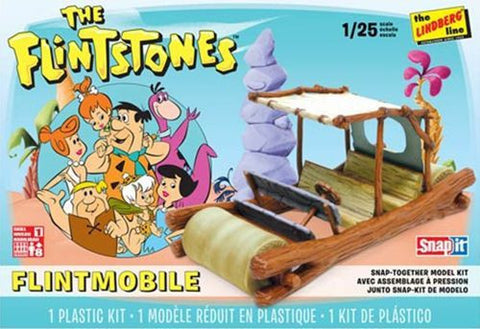 Lindberg Model Cars 1/25 Flintstones Car Snap Kit