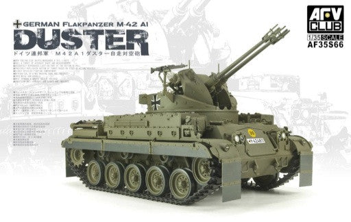 AFV Club Military 1/35 German FlakPz M42A1 Duster Tank Kit