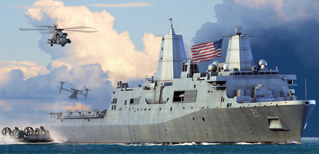 Hobby Boss Model Ships 1/700 USS New York LPD-21 Kit