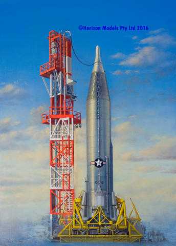 Horizon Models 1/72 Convair SM65D Atlas USAF ICBM (Inter-Continental Ballistic Missile) Kit