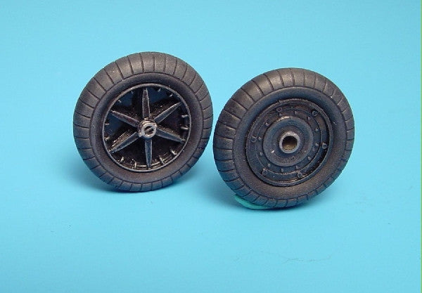 Aires Hobby Details 1/32 Bf109F Wheels & Paint Mask