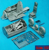 Aires Hobby Details 1/32 He162A2 Detail Set For RVL