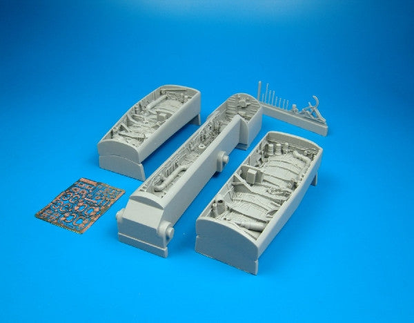 Aires Hobby Details 1/32 F/A18C Wheel Bay For ACY