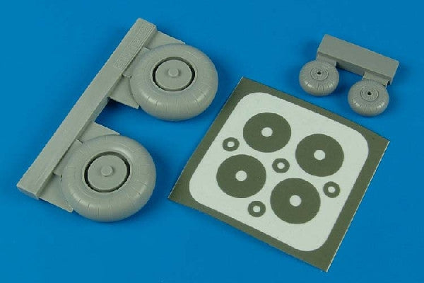Aires Hobby Details 1/32 Ju87G Wheels & Paint Mask For HSG